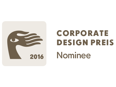 Corporate design preis nominee-lang
