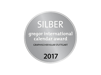 Gregor international calendar award 2017